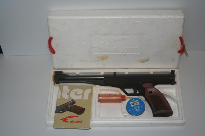 El Gamo Center Air Pistol | El Gamo | Vintage Airguns Gallery