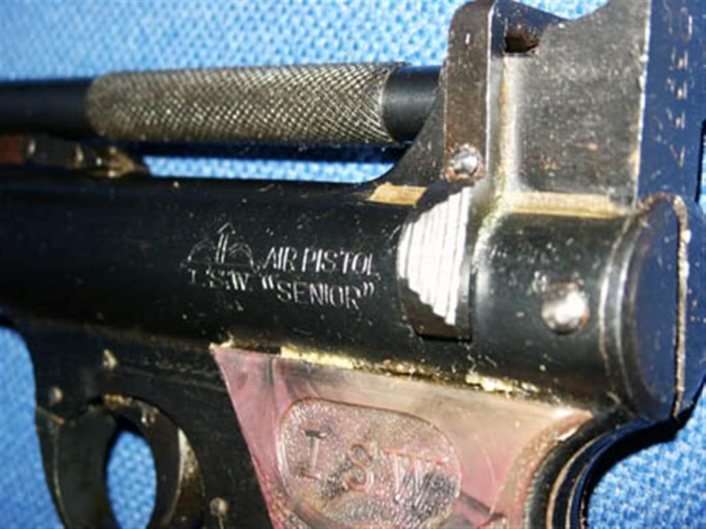 """ISW """"Senior"""" Air Pistol   India Manufactured Airguns"""