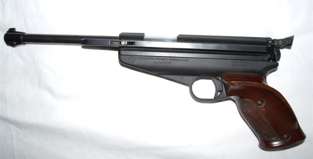 Feinwerkbau Modell-65 | Feinwerkbau Air Pistols | Vintage