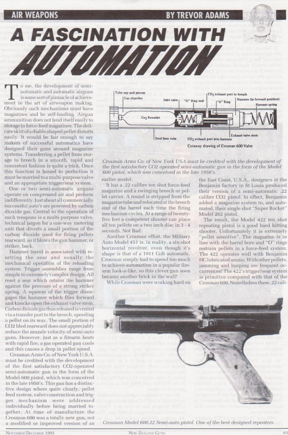 General airgun articles   Trev's Airgun Scrapbook pics